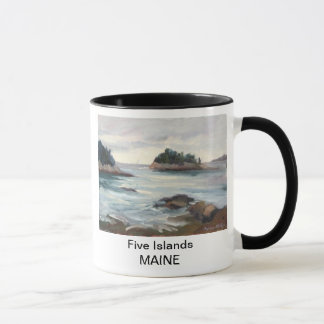Five Islands, Maine Mug