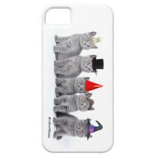 Five Kittencats With Hats (iPhone 5/5s case)