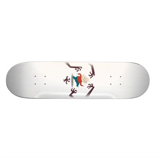 Five Little Zombies And Fred Gear Skateboard Deck