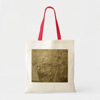 five magics budget tote bag