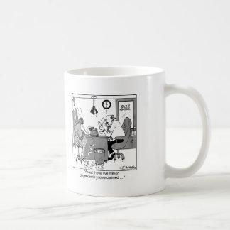 Five Million Dependents? Basic White Mug