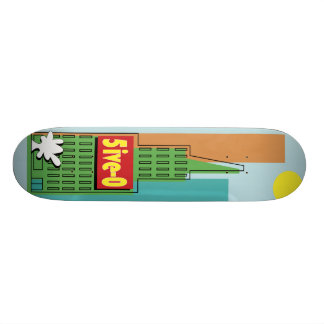 Five-O Custom Skateboard