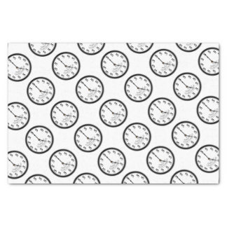 FIVE O'CLOCK CLOCK TISSUE PAPER