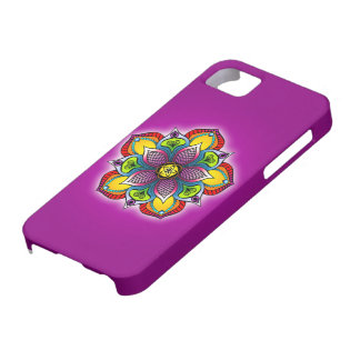 Five Petal Mandala iPhone5c/5s Case Case For The iPhone 5