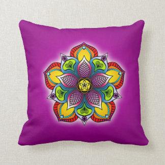Five Petal Mandala Pillow Cushions