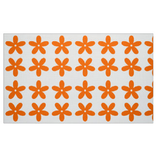 FIVE PETAL RETRO 2 ART DEUX.png Fabric