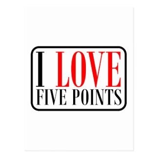 Five Points Alabama Postcard