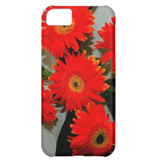 Five Red Flowers iPhone 5C Case