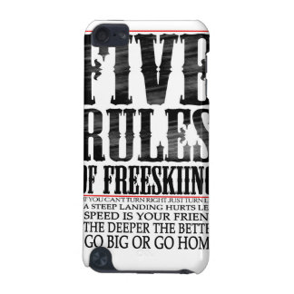 five rules iPod touch 5G cover