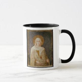Five Saints, detail of St. Clare Mug