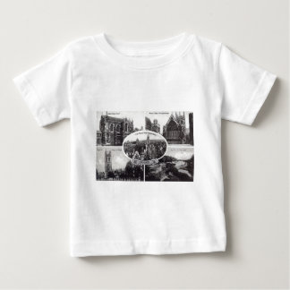 Five Scenes of Oxford England Vintage Baby T-Shirt