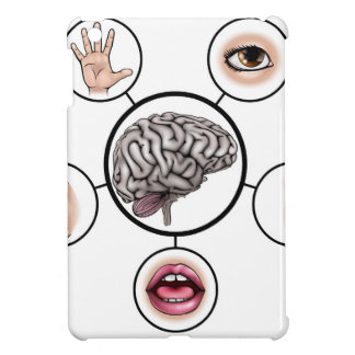 Five Senses Brain iPad Mini Cases