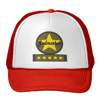 Five Star Godmother Mothers Day Gifts Cap
