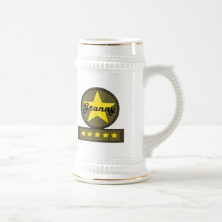 Five Star Grandmother Mothers Day Gifts Mugs