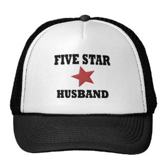 Five Star Husband Trucker Hats