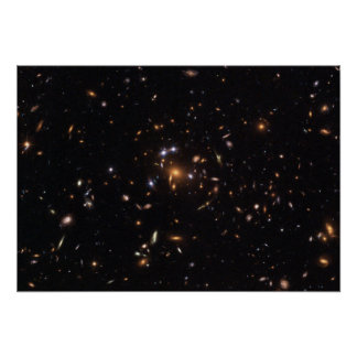 """Five-Star"" Rated Gravitational Lens Poster"