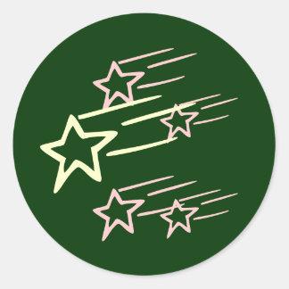 FIVE STAR ...  Share with FRIENDS Round Sticker