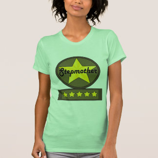 Five Star Stepmother Mothers Day Gifts Tees
