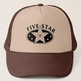 Five Star Trucker Hat
