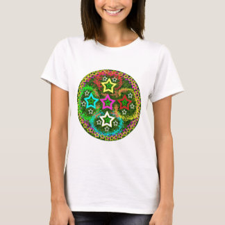 Five Stars Colorful T-Shirt