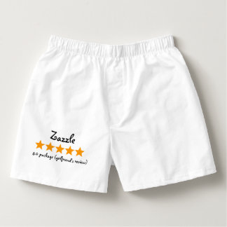 Five stars girlfriend review boxers
