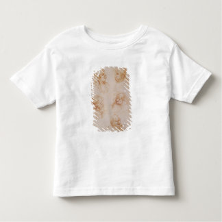 Five Studies of Grotesque Faces (red chalk on pape Toddler T-Shirt
