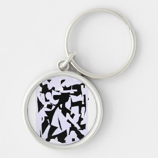 Five Times a Day Silver-Colored Round Key Ring