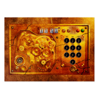 Five ton of 12 Steampunk clock Grunge Business Card