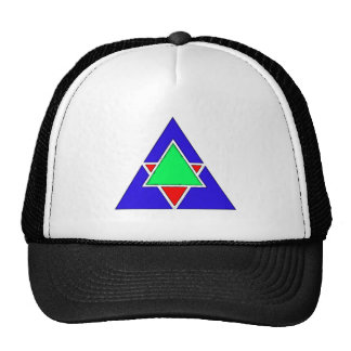 Five triangles five triangles mesh hats