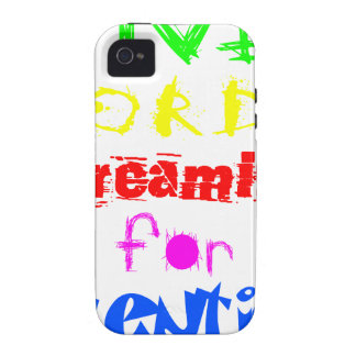 Five Words Screaming For Attention Case-Mate iPhone 4 Cover