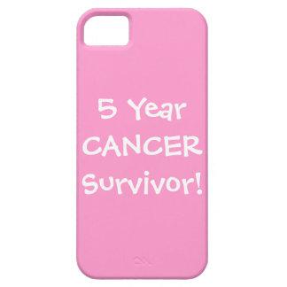 Five Year Cancer Survivor iPhone 5 Case