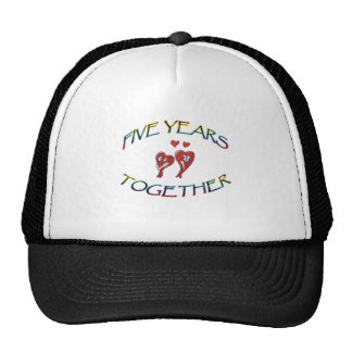 FIVE YEARS TOGETHER CAP