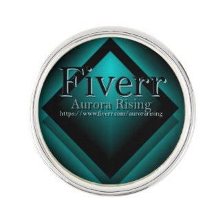 Fiverr Aurorarising Lapel Pin