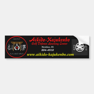 fix_1200, beebop, Aikido-Kajukenbo, Self Defens... Bumper Sticker