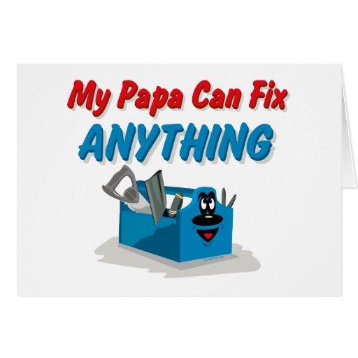 Fix Anything Papa Card