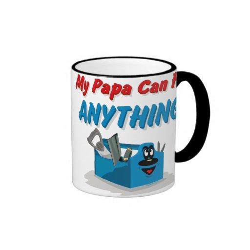 Fix Anything Papa Coffee Mugs