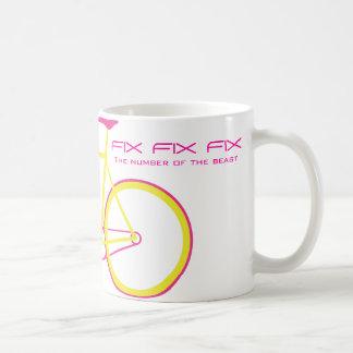 FIX FIX FIX The number of the beast Mugs