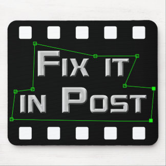 Fix it in Post VFX Mousepad