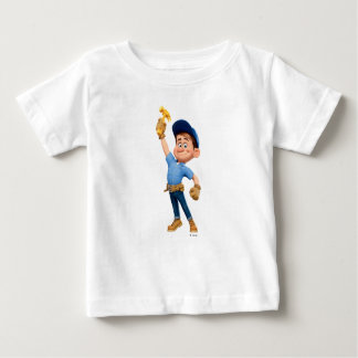 Fix-It Jr Holding Hammer in the Air Baby T-Shirt