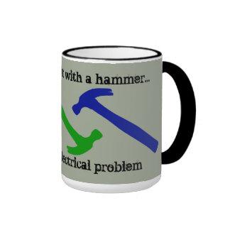 Fix It With A Hammer Coffee Mug
