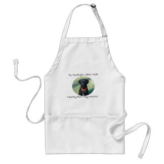 Fix That Ruffin CRPS RSD - Dad BLACK Text Aprons