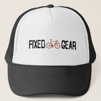 Fixed Gear Trucker Hat