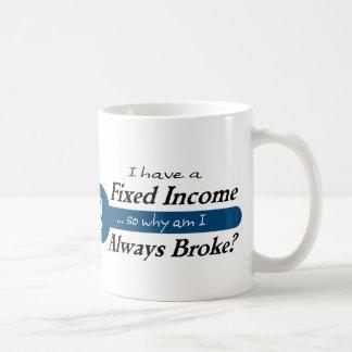 Fixed Income/Always Broke Mug - Blue