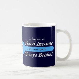 Fixed Income/Always Broke Mug - Lt. Blue