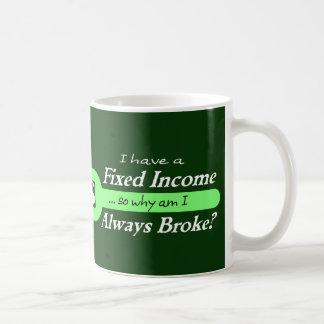 Fixed Income/Always Broke Mug - Mint