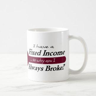 Fixed Income/Always Broke Mug - Plum