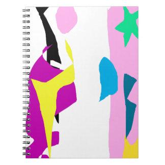 Fixed Star Spiral Notebook