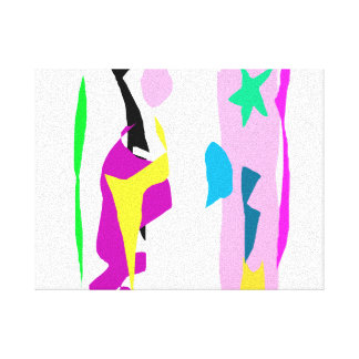 Fixed Star Stretched Canvas Print