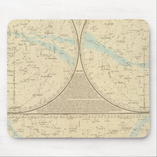Fixed Stars map Mouse Pad