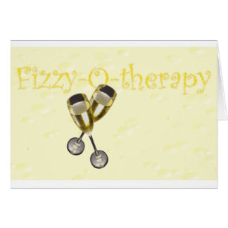 Fizzy-o-therapy Bubbles Greeting Card